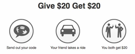 Affiliate marketing door Uber