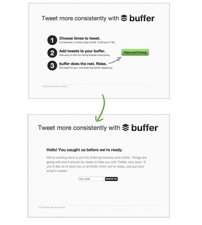 Buffer tool