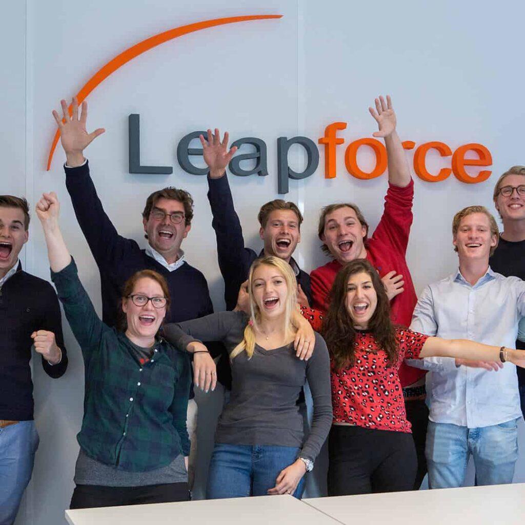 Groepsfoto Leapforce