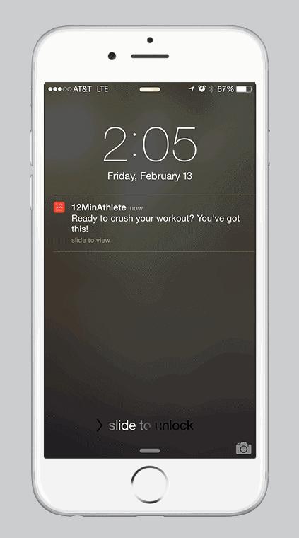 Push notificaties