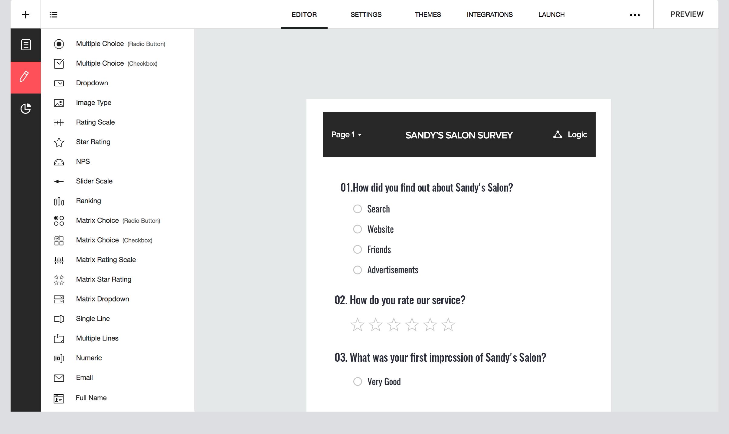 Zoho survey tool