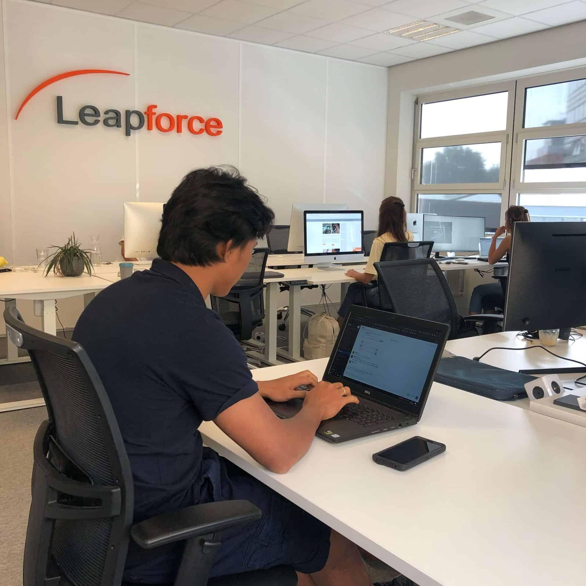 Leapforce marketing agency